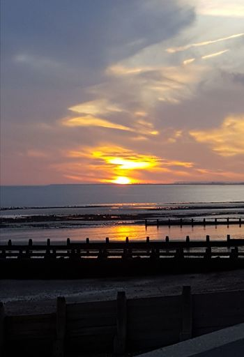 Looking West Selsey Sunset No Filter, No Edit, Just Photography Sunset Beach Sea Water Horizon Over Water Tourism Sand Cloud - Sky Travel Destinations Tranquility Nature Dramatic Sky Sky Landscape Vacations Tranquil Scene Sun Beauty In Nature Scenics Outdoors