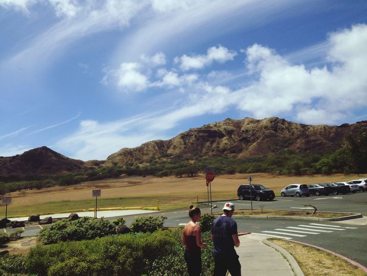 Hawaii Diamondhead Clouds And Wind