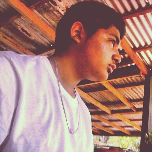 Myhair Sideburns Thickeyebrows Eyes white shirt chain cute sexy mexican sideview instaswag instacool instagood instafollow