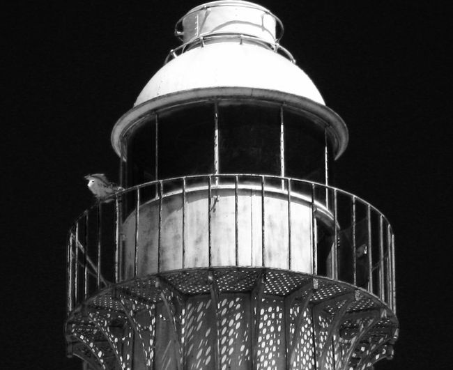 Monochrome Photography Low Angle View Railing Sky Dark No People Light House Blackandwhite Black And White Black & White Black And White Photography Blackandwhite Photography Blackandwhitephotography Black And White Collection  Lighthouse Lighthouse Beach Lighthousephotography Lighthouse_captures Taking Photos Close-up Built Structure Tall - High Night Low Angle View My Point Of View