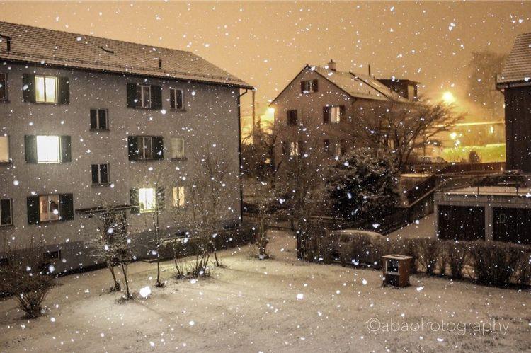 Welcome winter ❄️☃️🌨 Winter Switzerland Winterthur Schnee Snow Photooftheday Swisslife Canon100D Landcape_collection