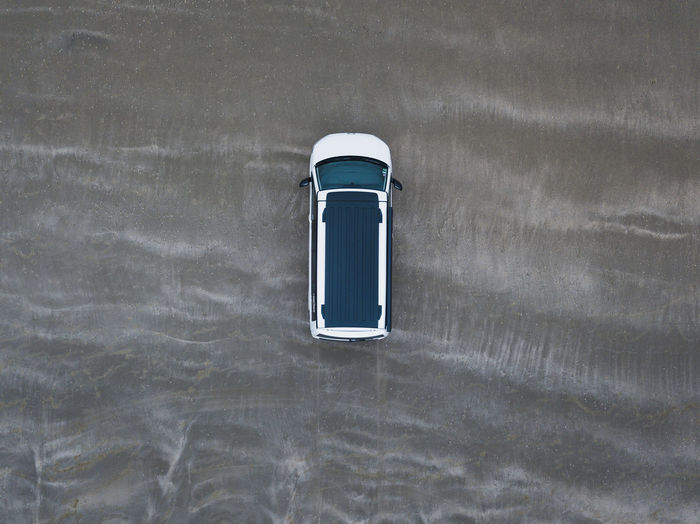 Close-up Container Day Directly Above High Angle View Nature No People Outdoors Simplicity Single Object Still Life Table Technology Wall - Building Feature Water Waterfront White Color