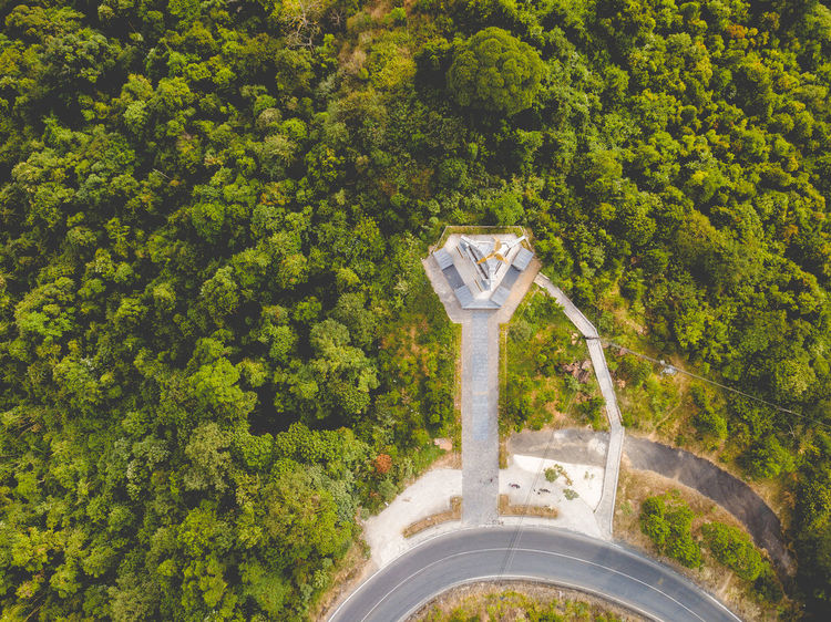 DJI X Eyeem Drone  Architecture Beauty In Nature Day Dronephotography Forest Green Color Growth High Angle View Nature No People Outdoors Road Scenics Skypixel Tree