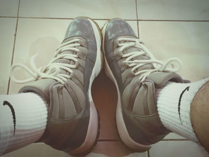 Mr.Grey' Jordans On My Feet  Coolgrey11 SneakerPorn Sneaky Photo SWAG ♥ Jordans