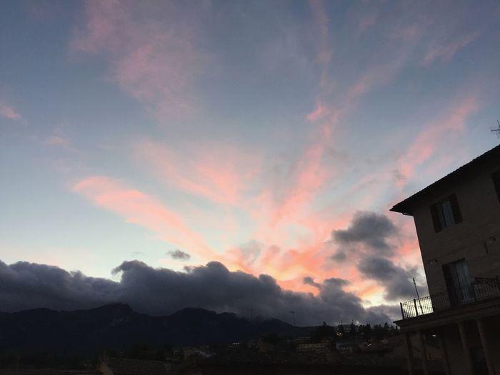 Colori nel cielo Colors Cielo Cielo Y Nubes  Iphoneonly