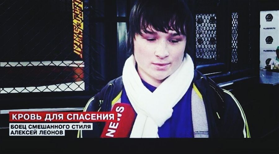 Interview to national channel )))