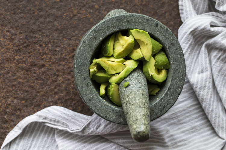 EATGREEN EatHealthy Avocado Foodphotography Guac Guacamole Mexican Food Mortar Mörser Preparing Food Studio Shot