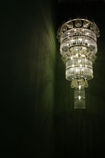 Chandelier Made Of Recycled Flasks Recycled Test Tubes Recycled Made Of Recycled Materials Recycling Creativity Creative Illuminated Electricity  Inspiration Text Lighting Equipment Close-up