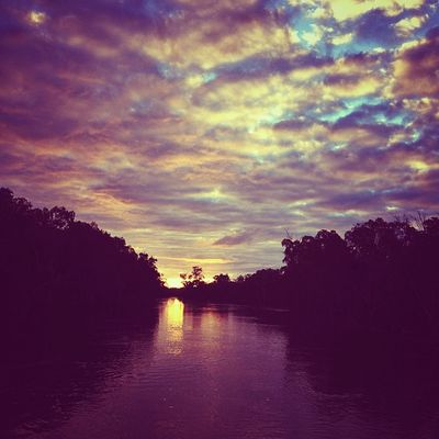 Murrumbidgee sunset. #roadtrip Roadtrip Lachlanpayneawesomeamazingphotosbestinstagramereverfollowmenow Payneroadtrip