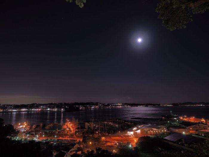 月明かりに照らされて Moonlight Moon Moon Light Nightphotography Night View Landscape Landscape_Collection