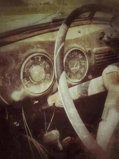 Enjoying Life Old Truck Restoration In Progress Art On Wheels Black And White Photography Speedometer