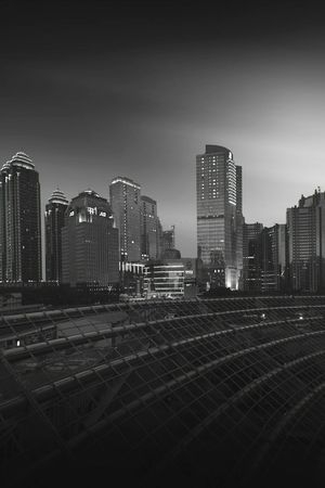 Central Business District of Jakarta. Jakarta INDONESIA Blackandwhite Buildings Cityscape First Eyeem Photo