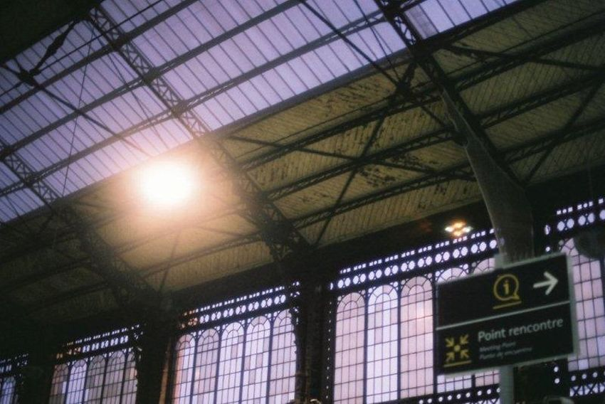35mm Film Film EyeEm Best Shots Traveling Train Station Sunny Day
