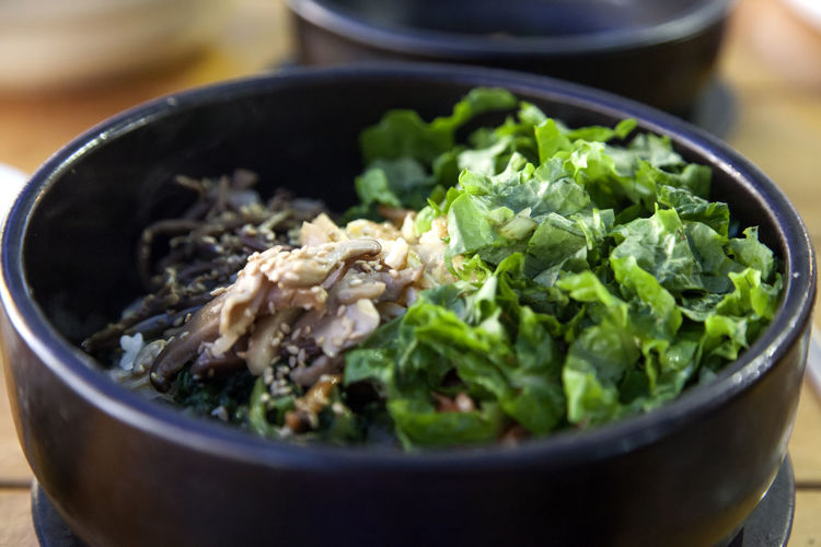 At Tapsa (Tower Temple) in Maisan, Jeonbuk, South Korea Autumn Bibimbap Bowl Close-up Day Focus On Foreground Food Food And Drink Freshness Healthy Eating High Angle View Indoors  Maisan No People Ready-to-eat