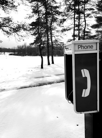 Need to make a call? Phone Payphone In The Middle Of Nowhere