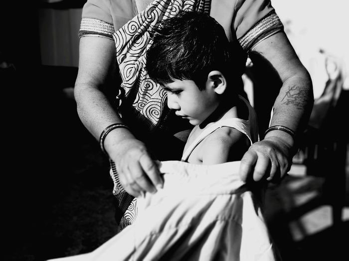 Village View Village Life Women Villege People EyeEm Selects School Boys House Wife Mother Eeyem Photography EE_Daily: Black And White EeYem Best Shots Ee_daily Eeyemgallery Eeyem Child Childhood Human Hand Girls Females Holding Daughter Bonding My Best Photo Moms & Dads