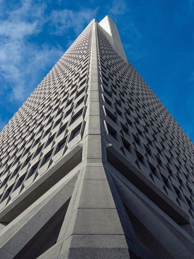 San Francisco TransAmericaBuilding Transamerica Pyramid Tower No People Architecture Sky Building Exterior Built Structure Office Building Outdoors City Streetphotography