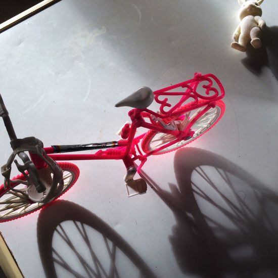 The stort of a little rabit..😊 Bicycle Rabit Toys Light Light And Shadow Objects Angle Play Still Life