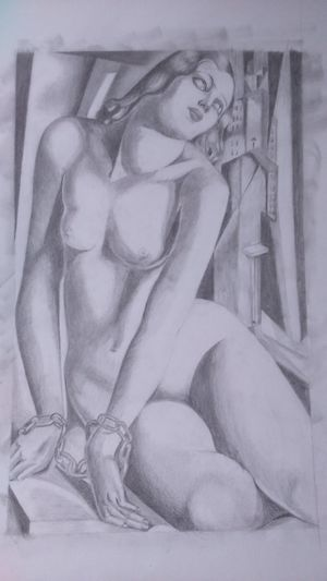 Andromeda Pencil Drawing My Drawing Greek Mythology Tamara De Lempicka Adult Art And Craft Chained Woman Portrait Art Art And Craft Arts Culture And Entertainment Check This Out Alternative Getting Inspired Freedom Creativity