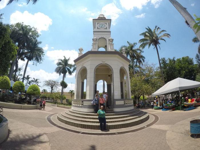 Toma del parque central de Ahuachapan, El Salvador. Imagen Go Pro 5 Ahuachapan  El Salvador Go Pro Hero 5 Monumentos  Occidente El Salvador Parks Parque Ahuachapan Tourism Turismo