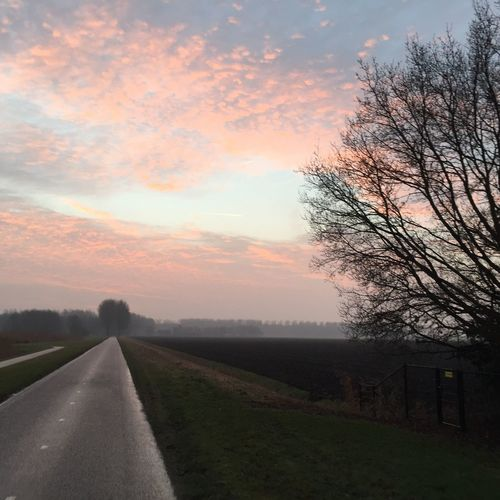 Sky Beauty In Nature Road Outdoors