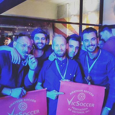 Great night with a bunch of champions....OneTime HoldTight TAFC Ffvnextseason