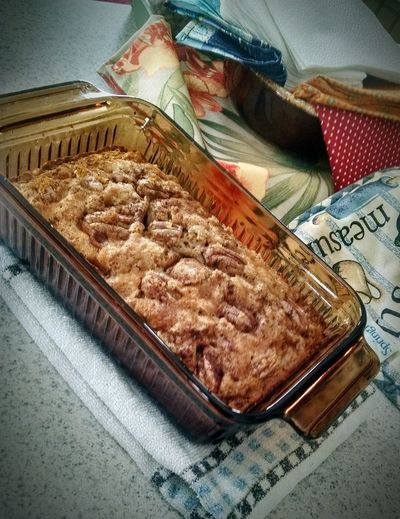 Food Freshness Homemade Food Colour Of Life Baked Goods Foodphotography Apple Cinnamon Bread Homemade Weekend Saturdaymorning Cooking At Home