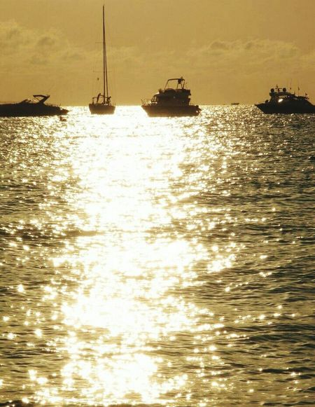 43 Golden Moments Trip Illetes Formentera Eivissa Formentera Ibiza Formentera Island Boat Boats Sea Sea And Sky Sunset Sunset_collection Love Remembering