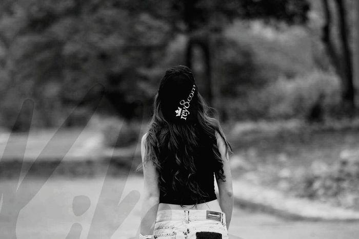 Caminar Casual Clothing Person Solitary Imagination Life Camino Gorra Cabello♥