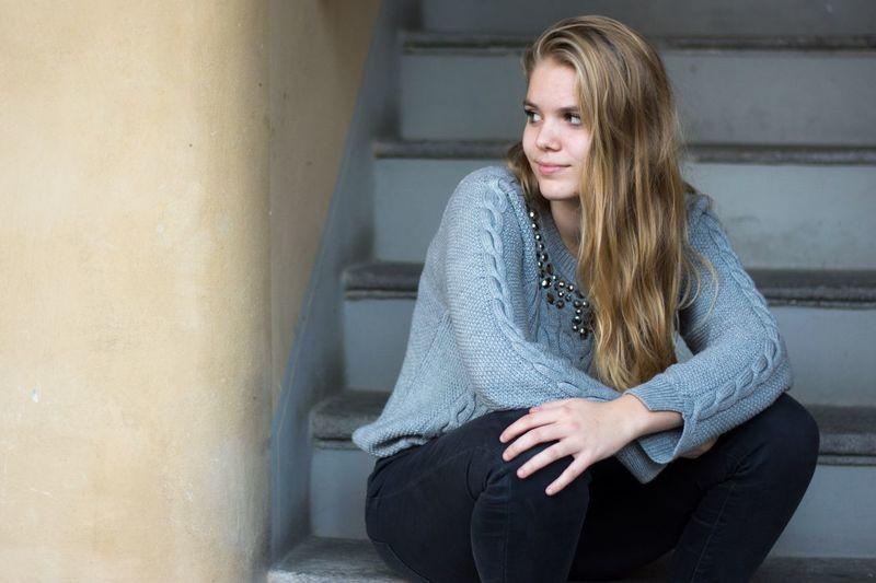 Blonde Teenager