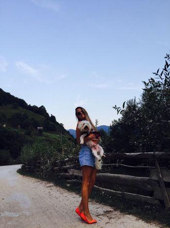 Happy Me And My Dog Happy Sweet Mysummer Ohh Iloveyou Missyousomuch Sexy Summer ☀ With My Dog Toby