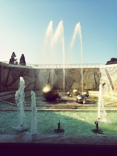 Peace square fountains. First Eyeem Photo