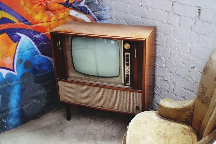 Tv Comfy  Brick Spray Paint Photographic Memory