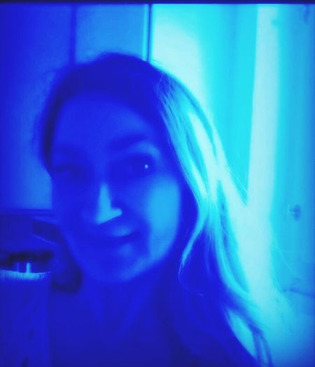 I am in the blue glow moon // // // ice Night🌙🌍 People Watching That's Me 💎🔵💠Good night my friends 😚 💧
