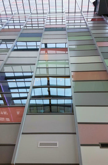 Architecture Building Exterior Built Structure City Day Future Indoors  Lines Low Angle View Modern No People Soft Colors  Utrecht , Netherlands Window