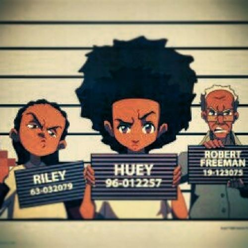Can't wait for the new season of The Boondocks on April 21. Blackboy Anybodywantsome Boondocks Superfun can'twait Awesome whathappennigga stinkmeaner uncleruckis Huey abouttogoham