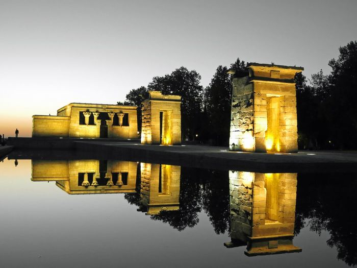 Templo dd Debod Madrid Spain Madrid Templo De Debod TemplodeDebod Debod's Temple España🇪🇸 Reflejos Reflejos En El Agua Egipto Manu García Manu Europa Europe
