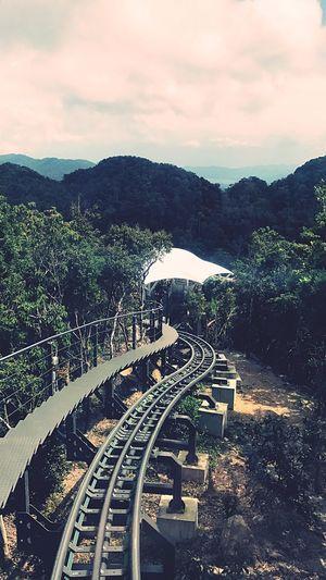 Outdoors Tracks Skybridge Malaysia Langkawi Mountain