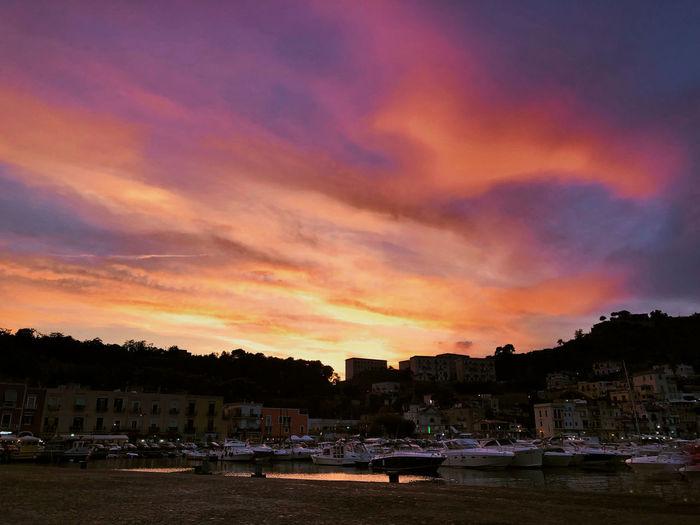 Boat Naples Sky