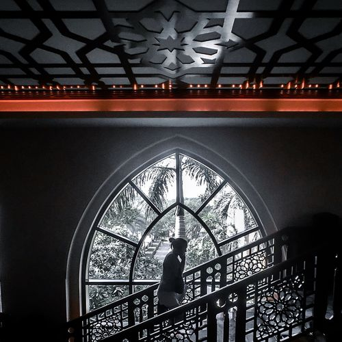 Darkness And Light in The Palace Hotel in Dubai