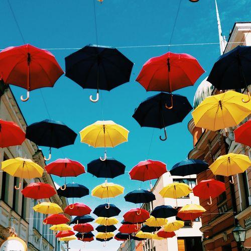 Colorful Sunny Side Up Banja Luka Umbrella