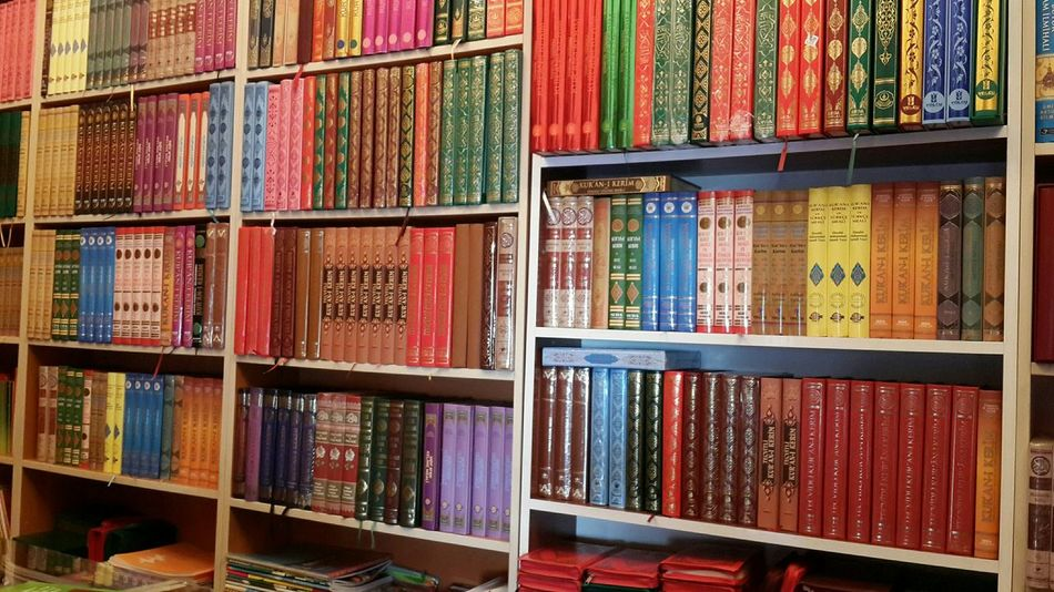 Bookstore Books Religion Holy Quran