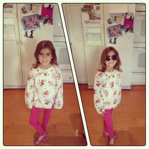 PolyFrame Avery is all ready for picture day and sunglasses day! She looks fabulous! @ameliabedelia3