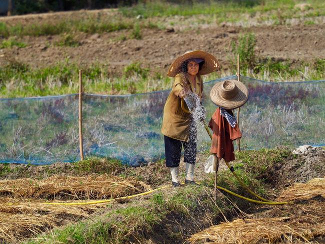 Chiang Mai | Thailand Farmer Thailand Field Fieldworker Ricefield first eyeem photo