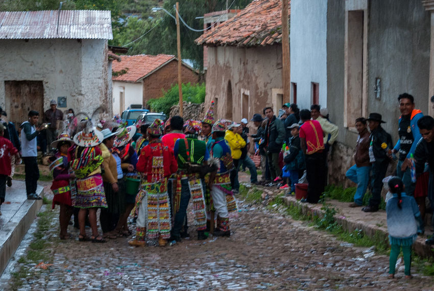Carnaval in Torotoro Bolivia Adult Architecture Building Exterior Built Structure Carnaval Day Large Group Of People Men Outdoors People Real People Torotoro