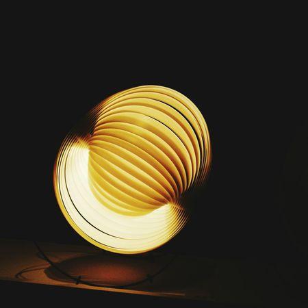 46778880 Illuminated Concentric Spiral Close-up