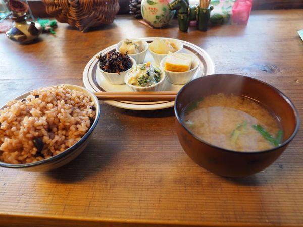 Kyoto Japan ASIA Sanjyo CHIERiYA Breakfast Food Indoors  Autumn Olympus PEN-F
