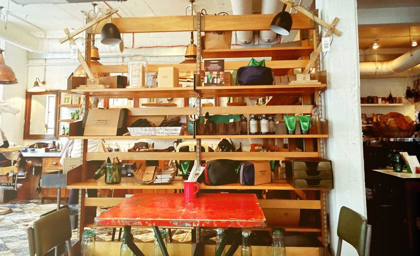 Interior Views Wood Coffee Time