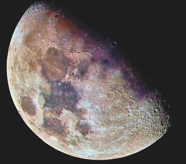 Mond Mond In Farbe Color Moon Moon Moon In Color Black Background No People Science Biology Close-up Space Nature The Great Outdoors - 2018 EyeEm Awards The Traveler - 2018 EyeEm Awards HUAWEI Photo Award: After Dark