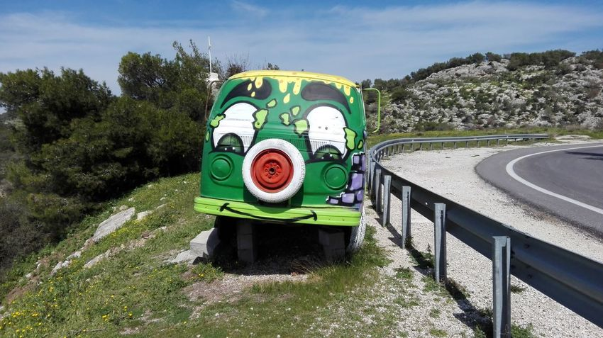 Greece Loutraki. Green Color Sky No People Tree Outdoors Day EyeEmNewHere EyeEmNewHere EyeEmNewHere